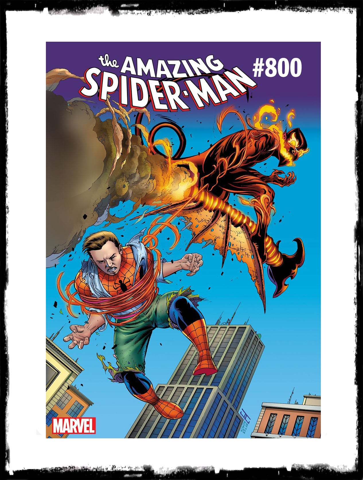 AMAZING SPIDER-MAN - #800 JOHN CASSADAY VARIANT (2018 - CONDITION VF+/NM)