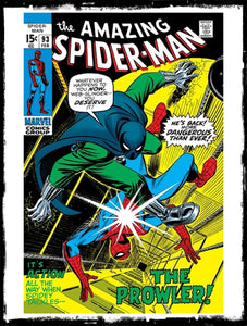 AMAZING SPIDER-MAN - #93 1ST APP OF ARTHUR & NANCY STACY  (1971 - FN/VF)