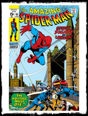 "AMAZING SPIDER-MAN - #95 ""TRAP FOR A TERRORIST!"" (1971 - VF)"