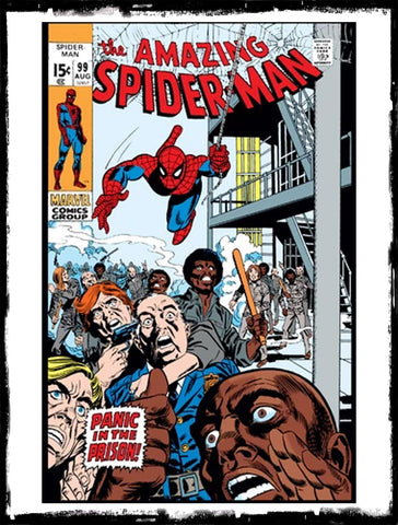 "AMAZING SPIDER-MAN - #99 ""A DAY IN THE LIFE OF..."" (1971 - FN/VF)"