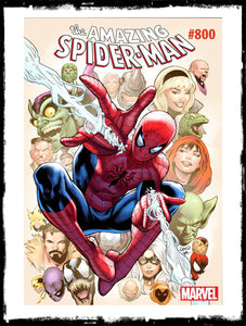 AMAZING SPIDER-MAN - #800 GREG LAND VARIANT (2015 - VF+)
