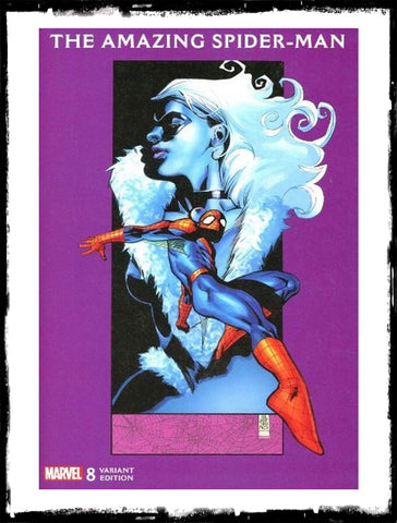 AMAZING SPIDER-MAN - #8 JG JONES BLACK CAT VARIANT (2018 - VF+)