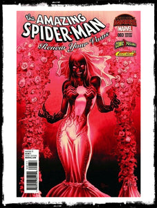 AMAZING SPIDER-MAN: RENEW YOUR VOWS - #3 MIKE DEODATO BLOOD RED VARIANT (2015 - NM)