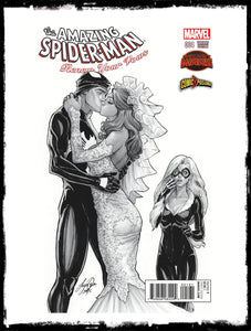 AMAZING SPIDER-MAN: RENEW YOUR VOWS - #4 SIYA OUM VARIANT EXCLUSIVE (2015 - NM)
