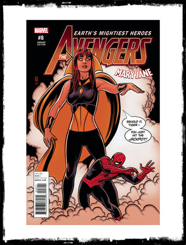 AVENGERS - #8 MICHAEL ALLRED MARY JANE VARIANT (2017 - CONDITION NM)