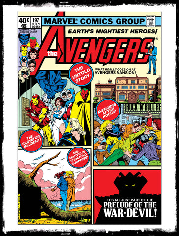 "AVENGERS - #197 ""PRELUDE OF THE WAR DEVIL!"" (1980 - VF+)"