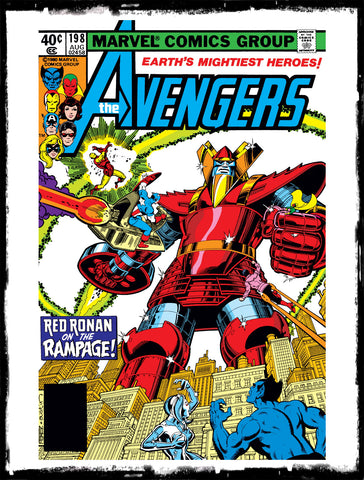 "AVENGERS - #198 ""BETTER RED THAN RONIN!""(1980 - VF+)"