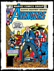 "AVENGERS - #201 ""THE EVIL REBORN & BULLY!"" (1980 - VF+)"