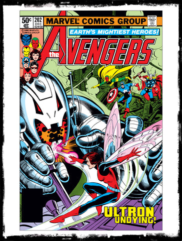 "AVENGERS - #202 ""THIS EVIL UNDYING"" (1980 - VF+)"