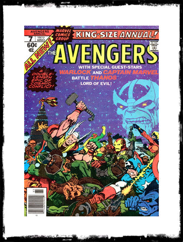 AVENGERS - ANNUAL #7 (1976 - CONDITION VF)