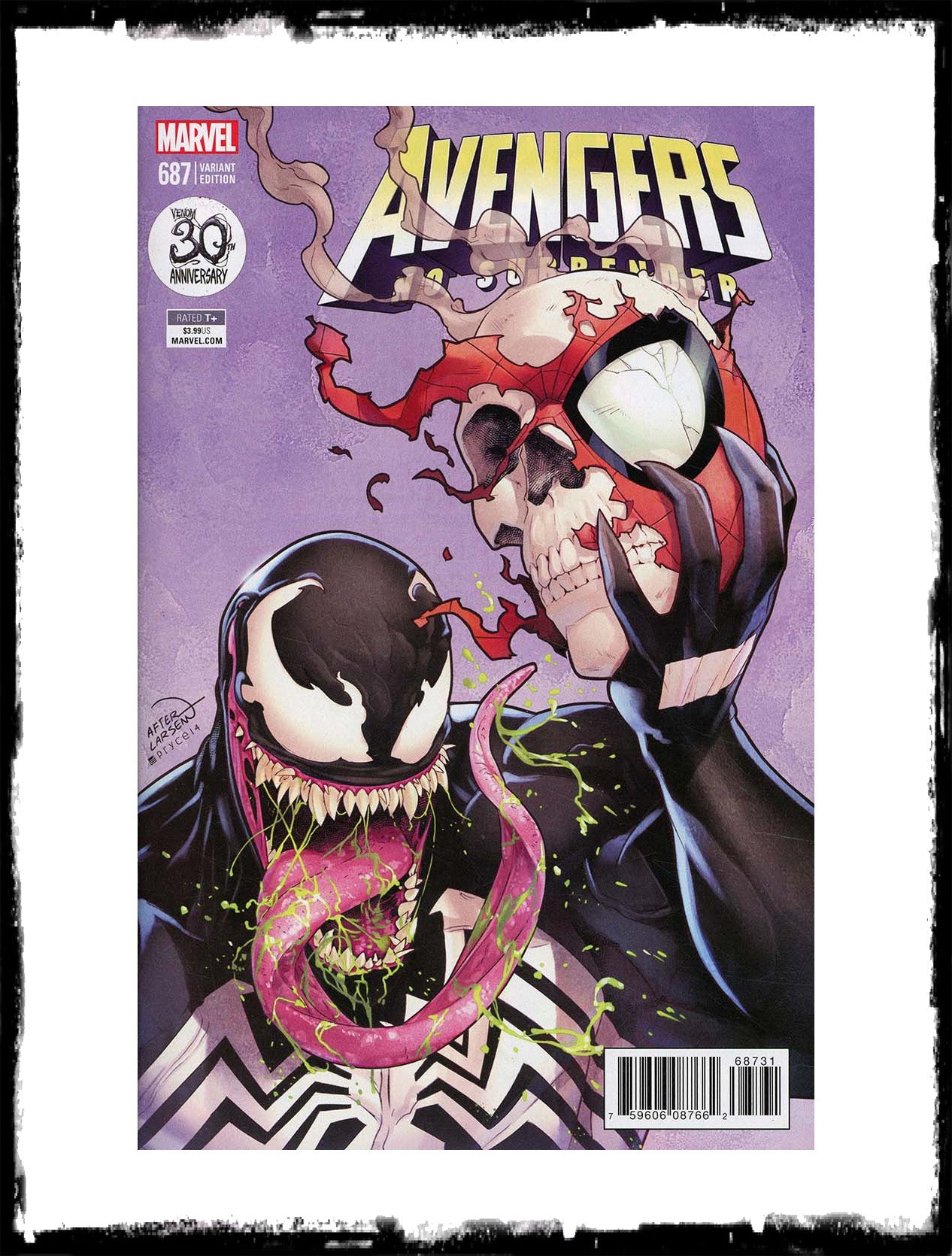 AVENGERS - #687 JAMAL CAMPBELL VARIANT (2017 - CONDITION NM)