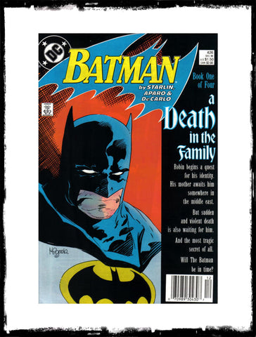 BATMAN - #426-429 A DEATH IN THE FAMILY - FOUR ISSUE SET (1988 - CONDITION VF)
