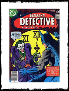 DETECTIVE COMICS - #475 'THE LAUGHING FISH' CLASSIC (1978 - CONDITION VF)