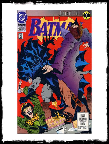 BATMAN - #492 (1993 - CONDITION VF+)