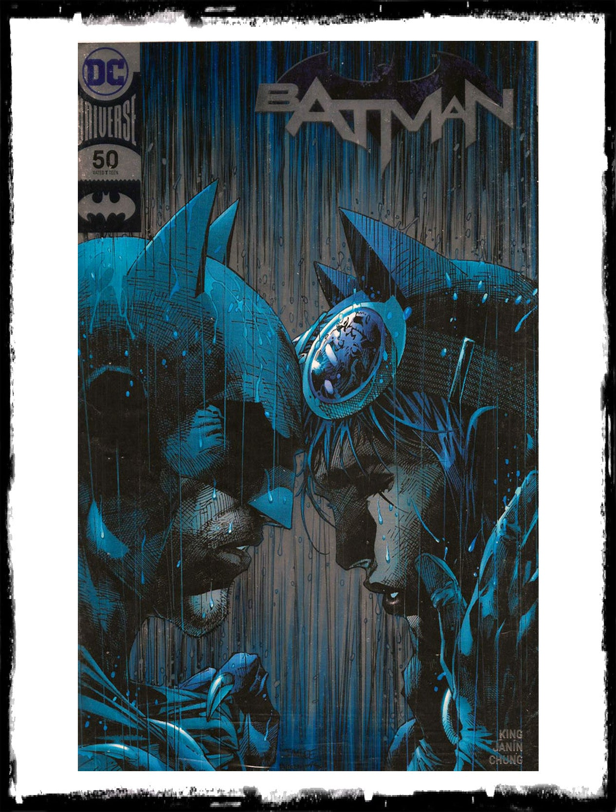 BATMAN - #50 JIM LEE FOIL SDCC 2018 CONVENTION VARIANT (2018 - CONDITION NM)