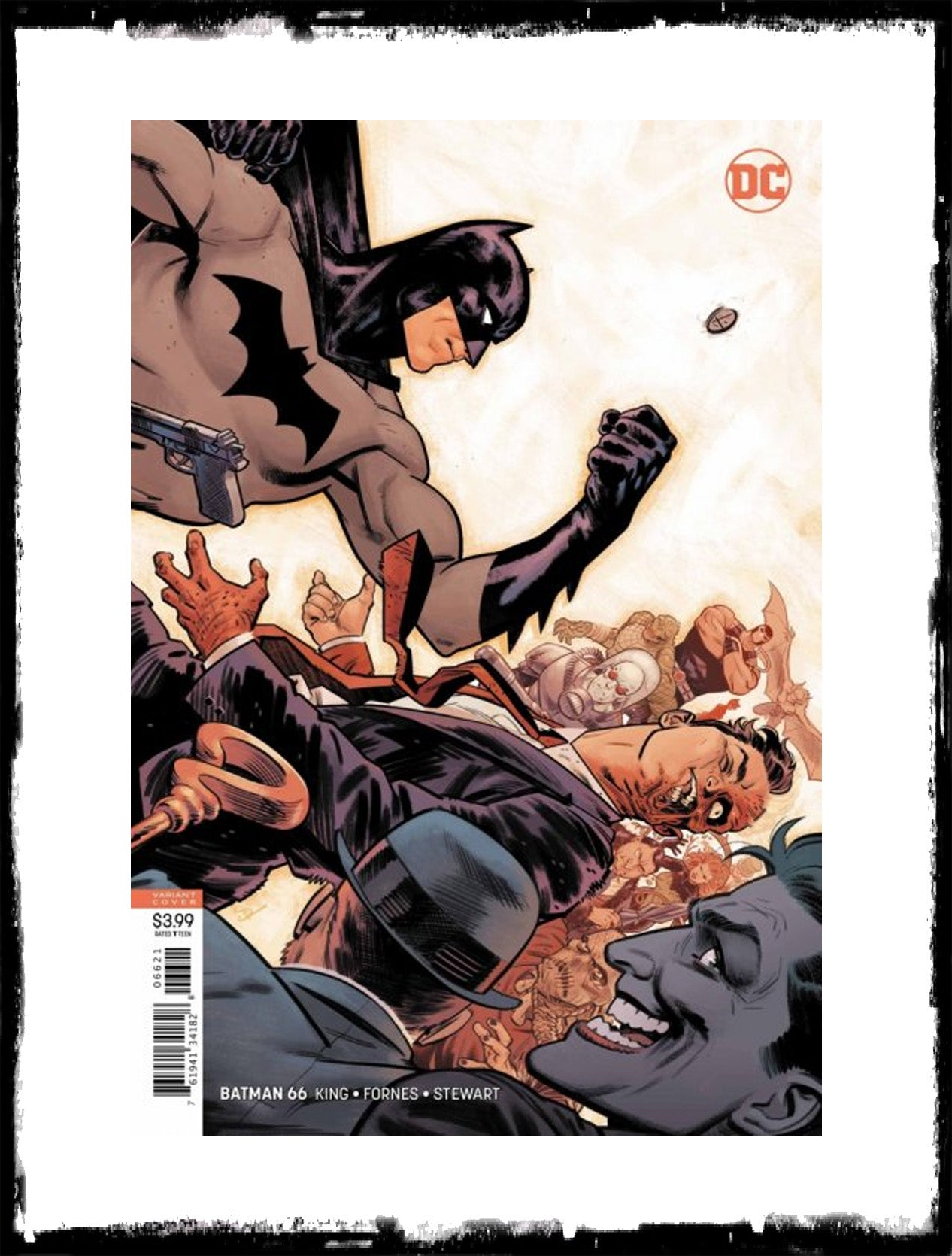 BATMAN - #66 EVAN DOC SHANER VARIANT (2019 - CONDITION NM)