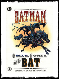 BATMAN: THE BLUE, THE GREY, AND THE BAT - PRESTIGE FORMAT (1992 - NM)