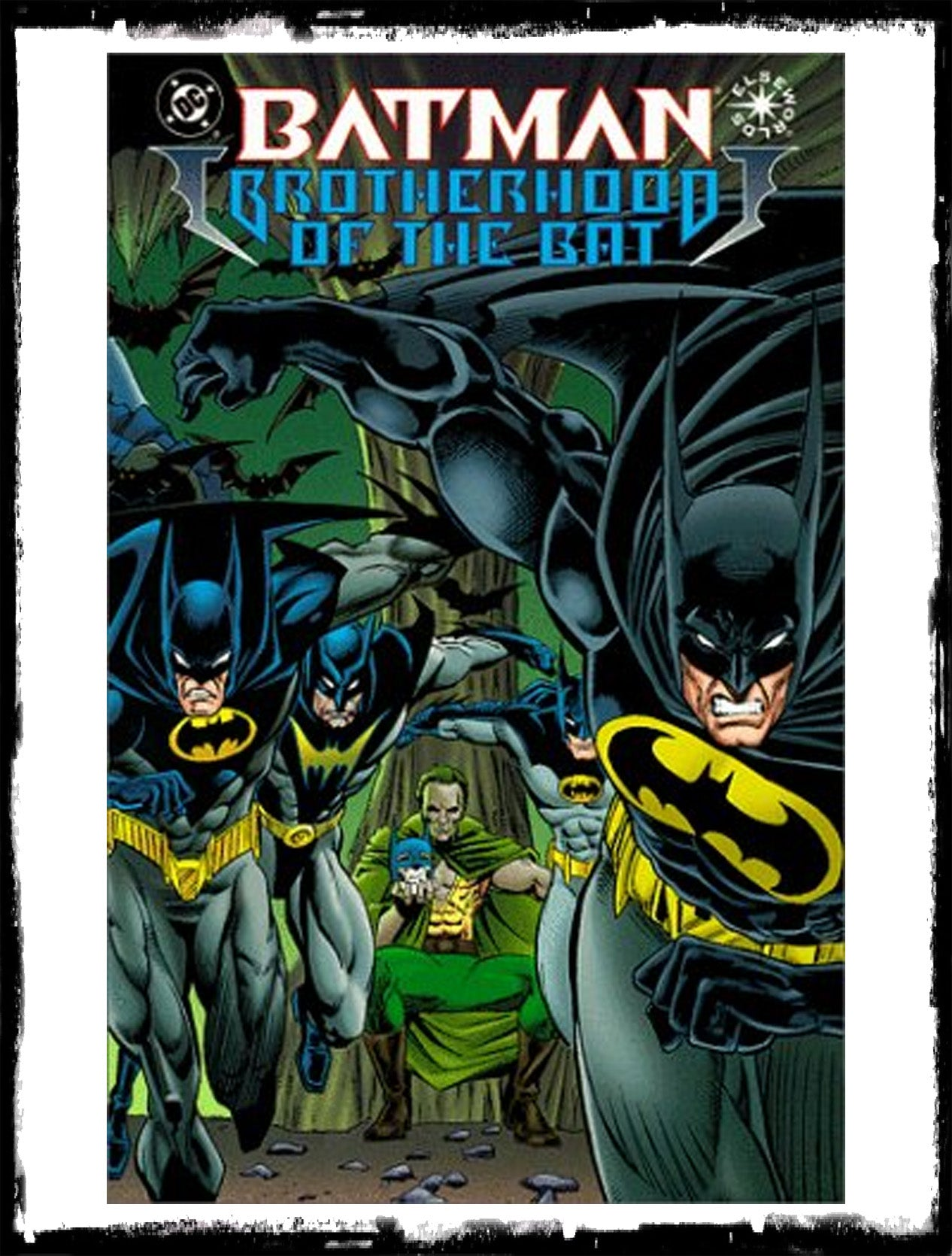 BATMAN: BROTHERHOOD OF THE BAT - #1 PRESTIGE FORMAT ELSEWORDS (1995 - NM)