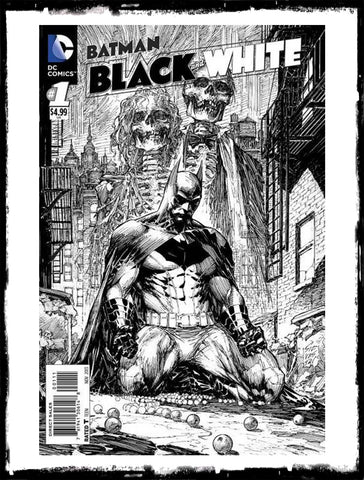 BATMAN: BLACK & WHITE - MARC SILVESTRI COVER! (2013 - NM)