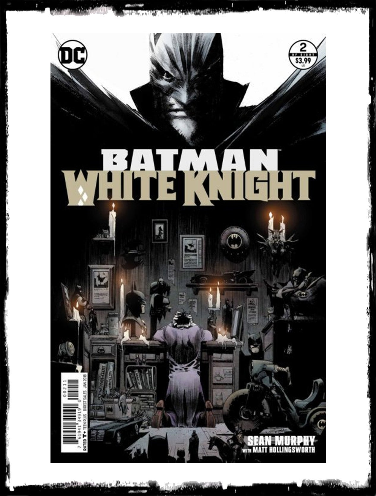 BATMAN: WHITE KNIGHT - #2 FIRST BABY DOLL & NEO JOKER (2018 - CONDITION NM)