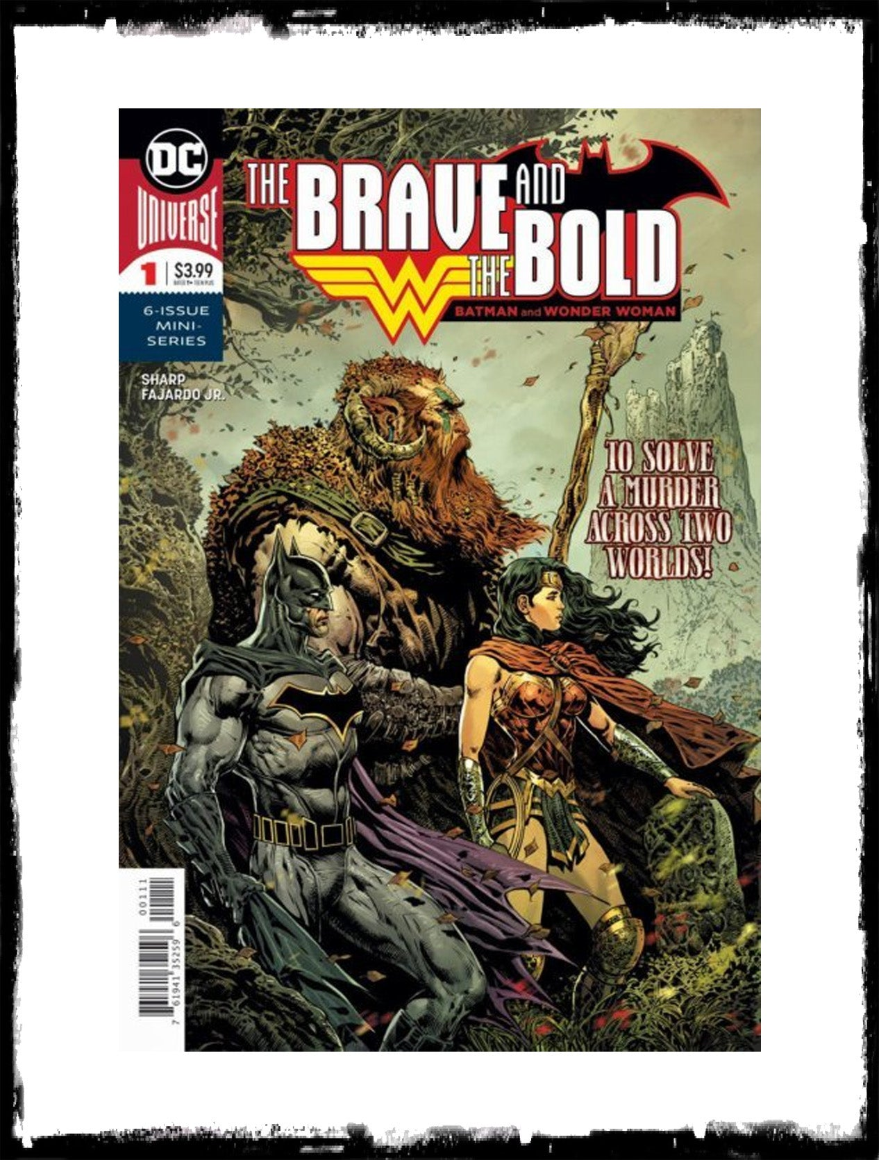 BRAVE AND THE BOLD: BATMAN AND WONDER WOMAN - #1 (2018 - CONDITION NM)