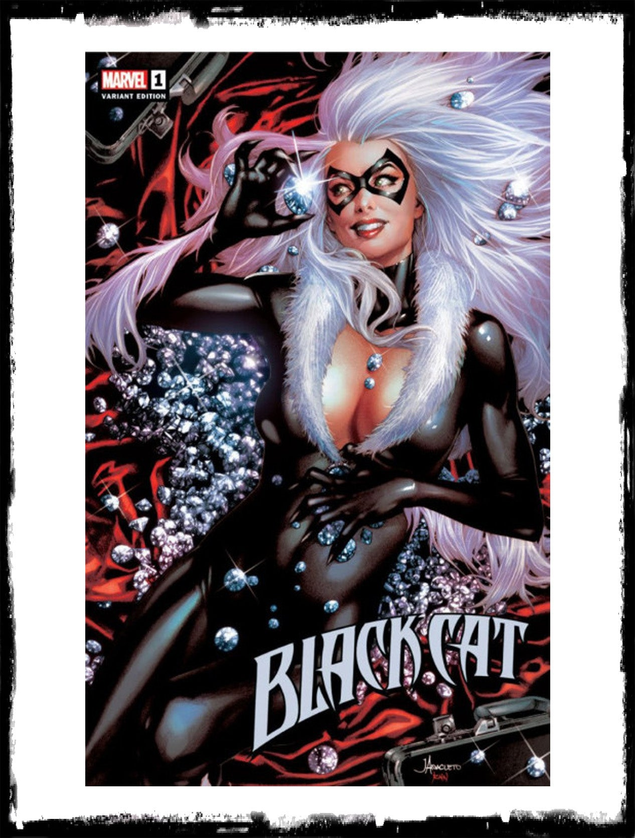 BLACK CAT - #1 JAY ANACLETO VARIANT (2019 - CONDITION NM)