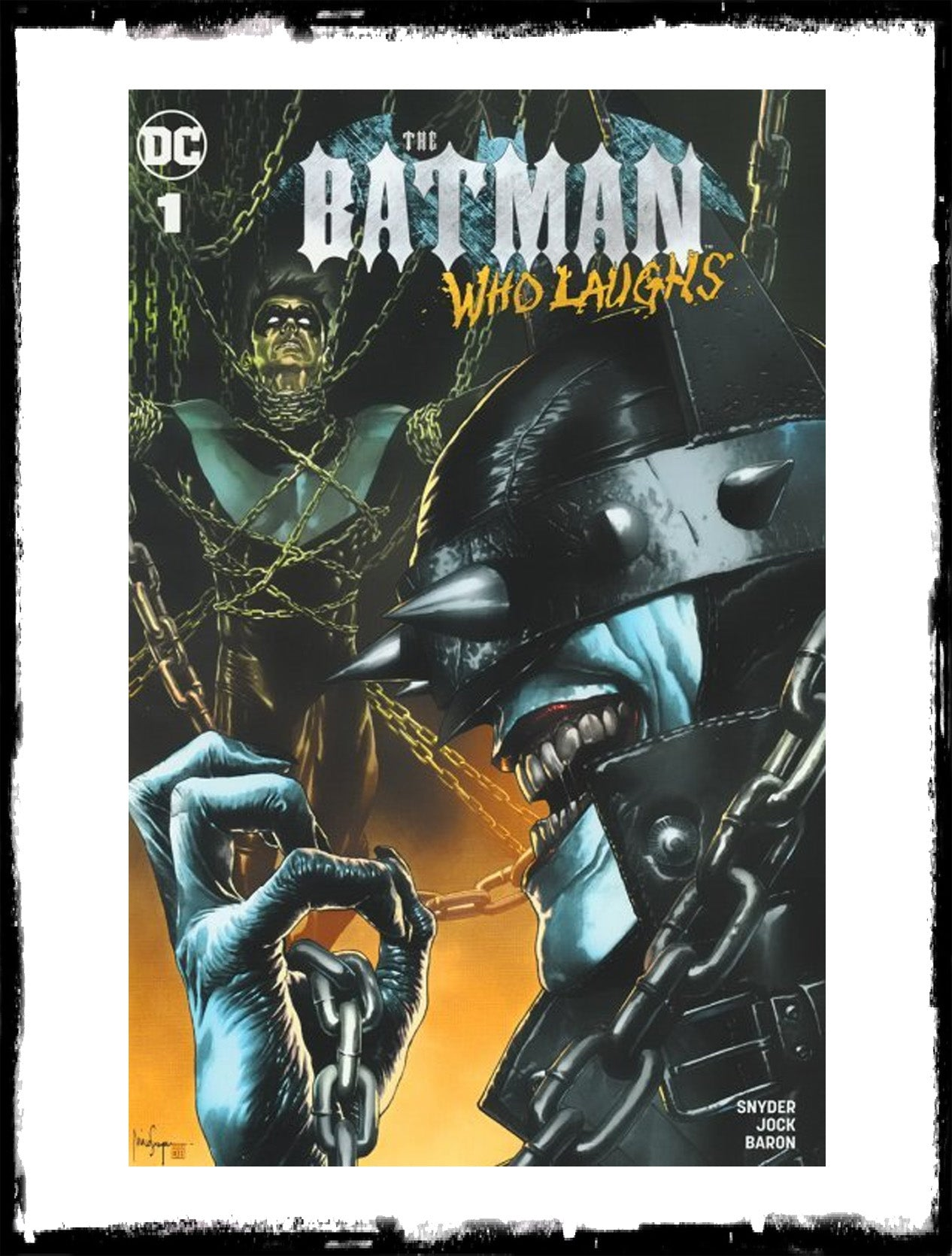 BATMAN WHO LAUGHS - #1 MICO SUAYAN VARIANT EXCLUSIVE (2019 - NM)