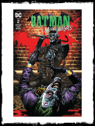 BATMAN WHO LAUGHS - #2 MICO SUAYAN VARIANT EXCLUSIVE (2019 - NM)