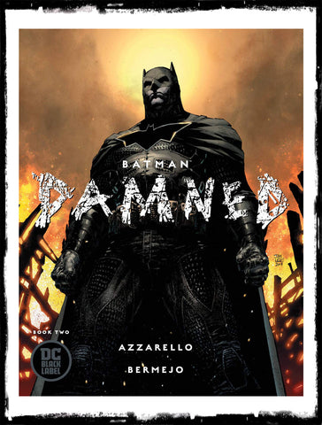 BATMAN - DAMNED #2 JIM LEE COVER (2019 - CONDITION NM)