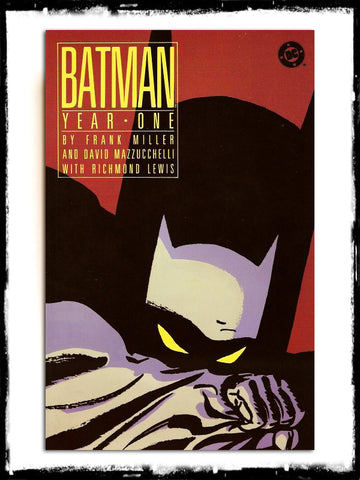 BATMAN - YEAR ONE Graphic Novel