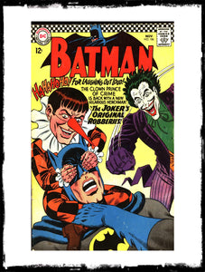 BATMAN - #186 (1966 - CONDITION F-/F)