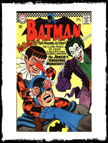 BATMAN - #186 (1966 - CONDITION FN-/FN)