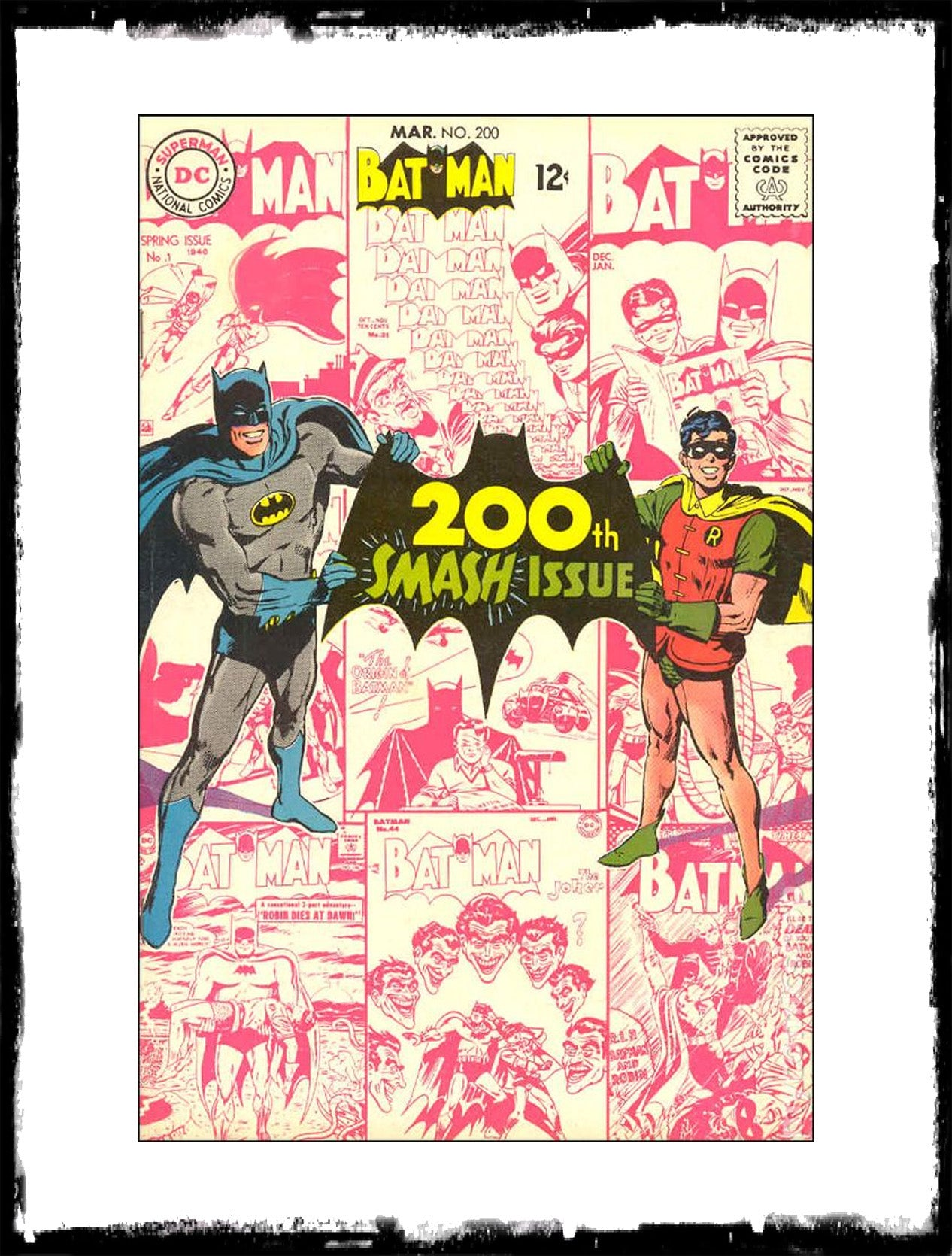 BATMAN - #200 (1968 - CONDITION F-)