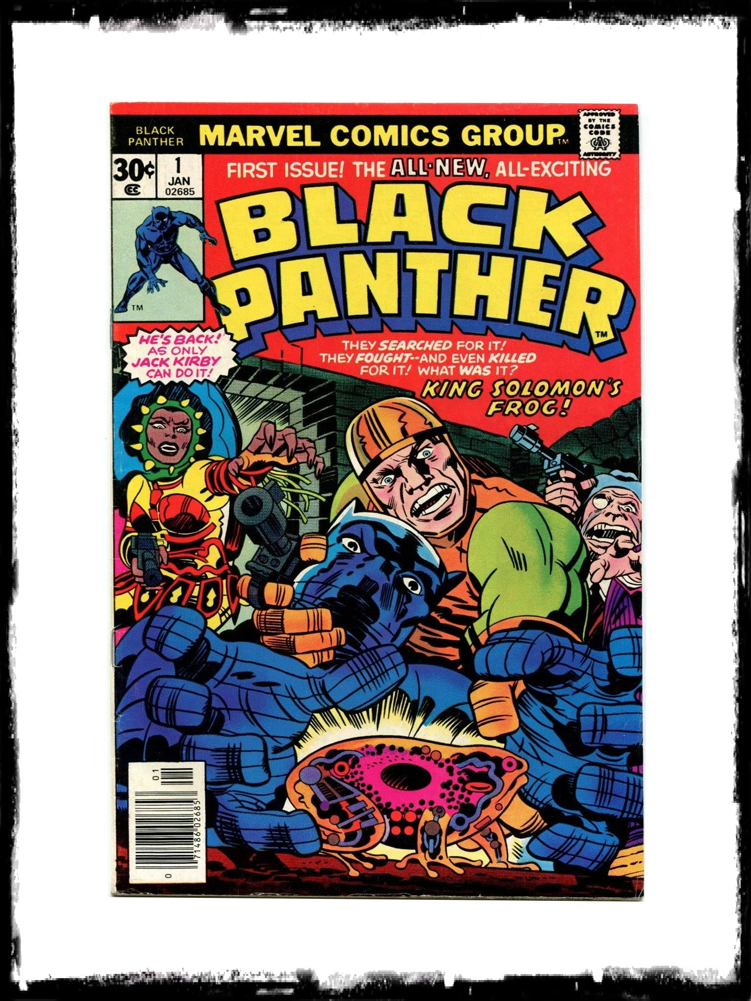 BLACK PANTHER - #1 (1977 - CONDITION VF+)