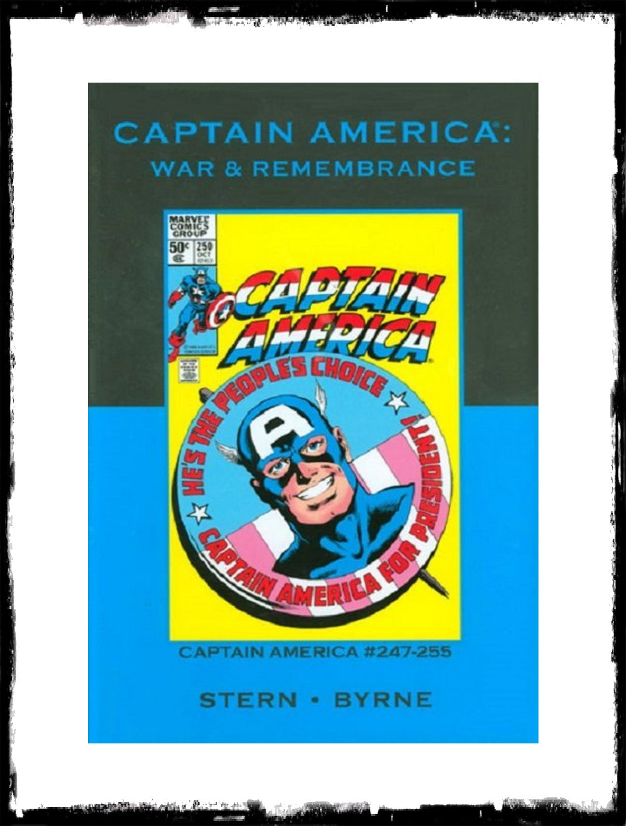 CAPTAIN AMERICA: WAR & REMEMBRANCE - HARDCOVER