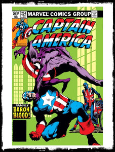 "CAPTAIN AMERICA - #254 ""BLOOD ON THE MOORS!"" (1981 - VF)"