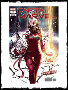 CAPTAIN MARVEL - #8 IN-HYUK LEE VARIANT (2019 - CONDITION NM)