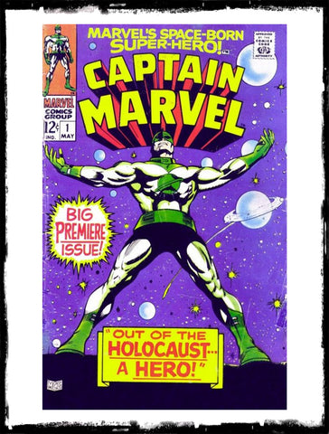 "CAPTAIN MARVEL - #1 ""BIG PREMIERE ISSUE!"" (1968 - VF-/VF)"