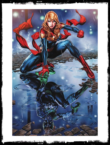 CAPTAIN MARVEL - #9 MARK BROOKS VIRGIN VARIANT! (2019 - VF+/NM)