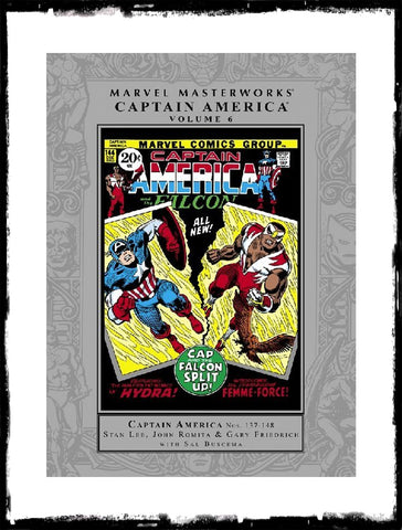 MARVEL MASTERWORKS: CAPTAIN AMERICA - VOLUME 6 HARDCOVER