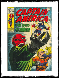 CAPTAIN AMERICA - #115 (1969 - CONDITION F/VF)
