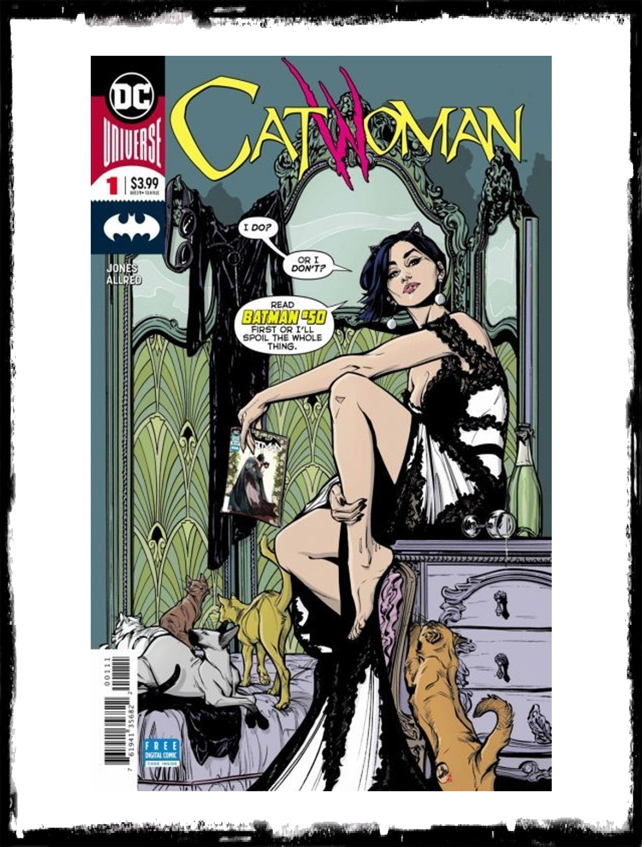CATWOMAN - #1 (2018 - NM)