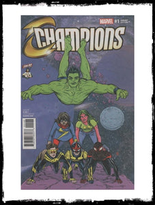 CHAMPIONS - #1 CBLDF ALLRED POLY-BAGGED VARIANT (2016 - CONDITION NM)