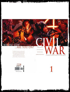 CIVIL WAR - #1 START OF CIVIL WAR EPIC (2006 - VF+/NM)