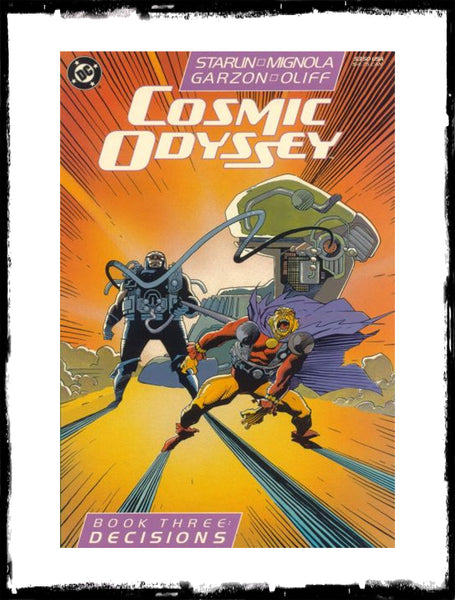 COSMIC ODYSSEY - #1 - 4 COMPLETE SET! (1988 - VF+/NM)
