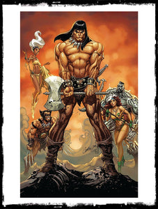 CONAN THE BARBARIAN - #1 J. SCOTT CAMPBELL VIRGIN VARIANT (2020 - VF+/NM)