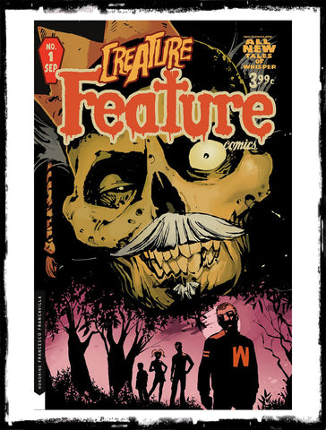 CULT CLASSIC CREATURE FEATURE - #1 TIM DANIEL VARIANT (2019 - NM)