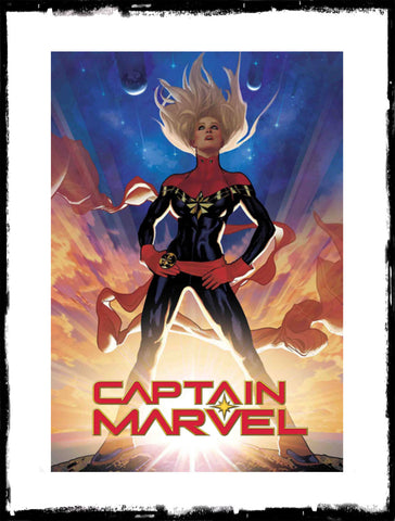 CAPTAIN MARVEL - #1 ADAM HUGHES 1:25 VARIANT (2019 - CONDITION NM)