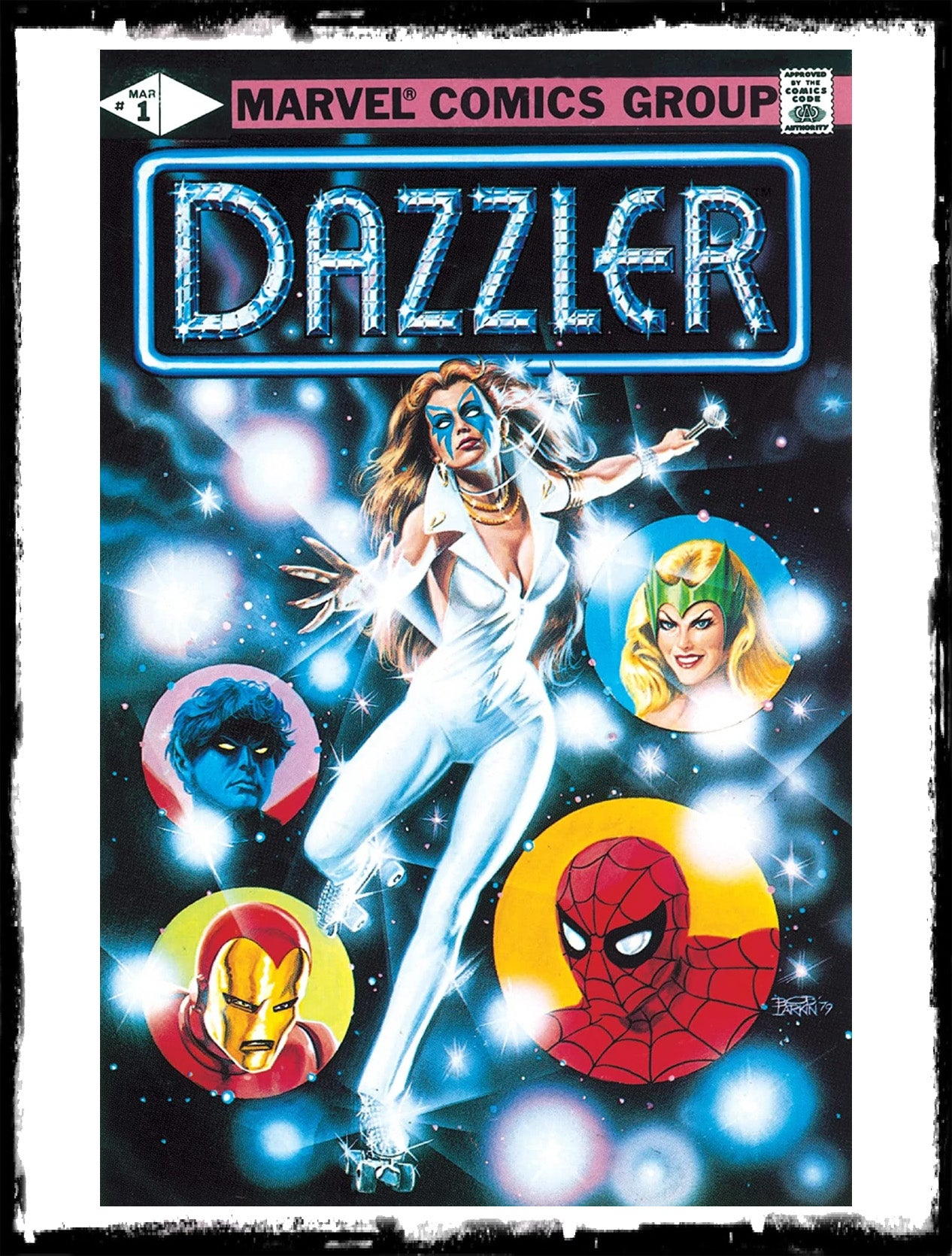 "DAZZLER - #1 ""SO BRIGHT THIS STAR"" (1981 - VF+/NM-)"
