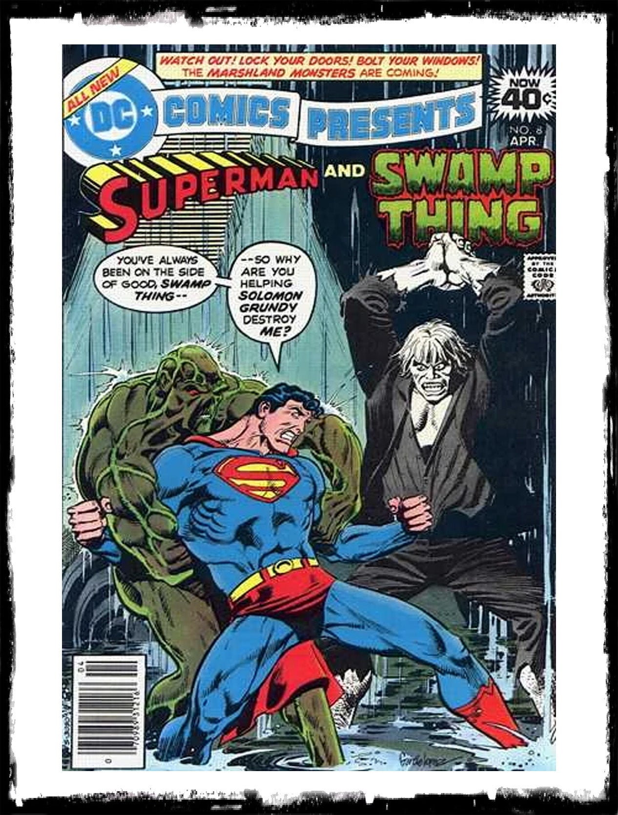 DC COMICS PRESENTS - #8 SUPERMAN & SWAMP THING (1979 - FN+/VF)